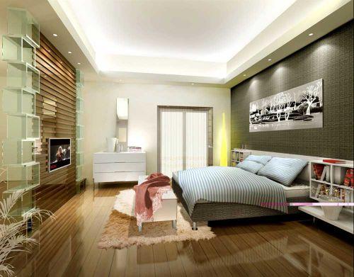 2016个性创意现代卧室装修案例