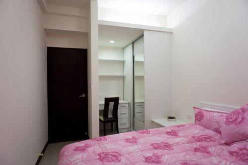 2016白色现代风格卧室设计案例