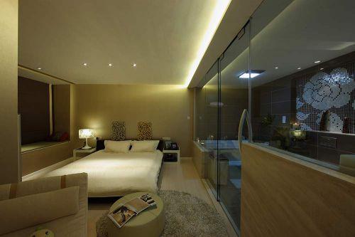 简约休闲卧室装修案例欣赏