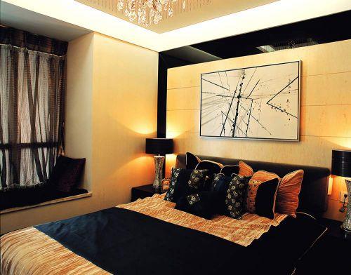 2016现代质感卧室装修效果图