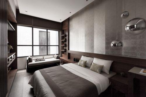 2016时尚现代灰色卧室装修美图