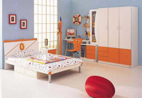 现代时尚卧室装修效果展示