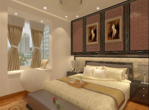 2016现代风格卧室装饰图