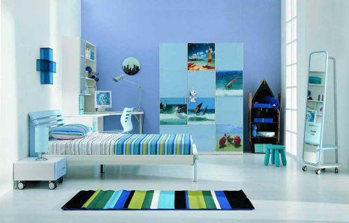 现代简洁时尚卧室装潢