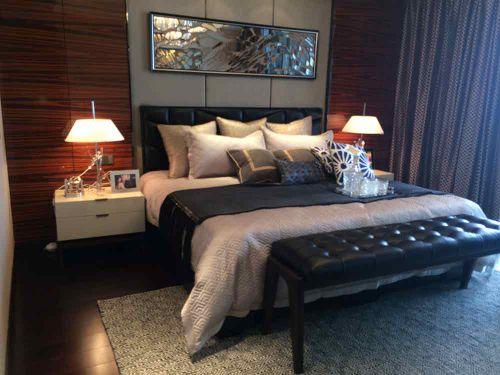 现代舒适气派卧室装潢