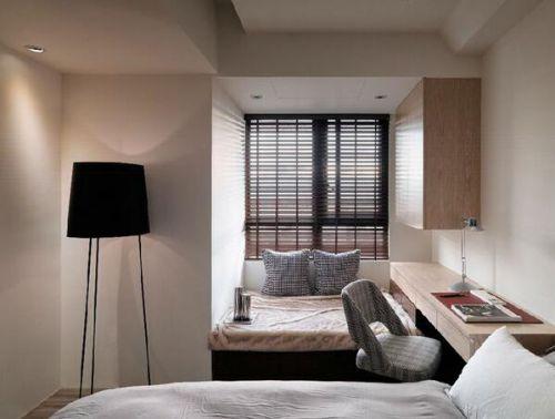 优雅安适现代风格卧室装饰布置