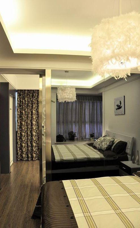 现代奢华卧室案例