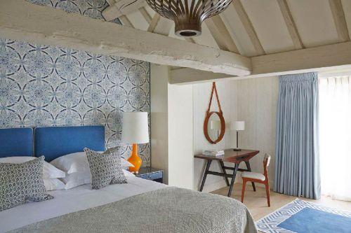 地中海别墅时尚卧室装修欣赏