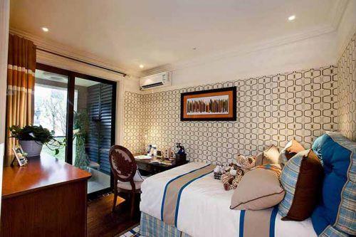 温暖地中海风卧室装潢设计