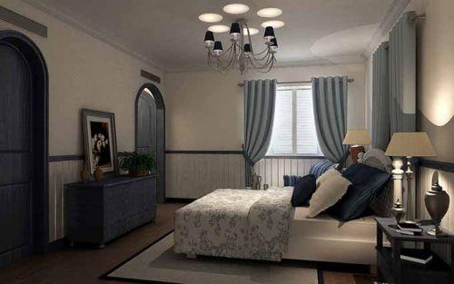 2015地中海卧室装修效果图
