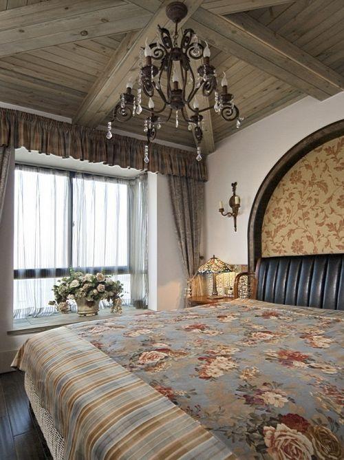 地中海风格素雅米色卧室装修赏析