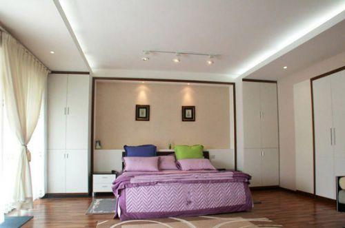 地中海米色卧室美图赏析