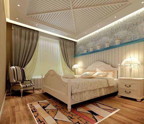 纯净地中海风格卧室装潢设计