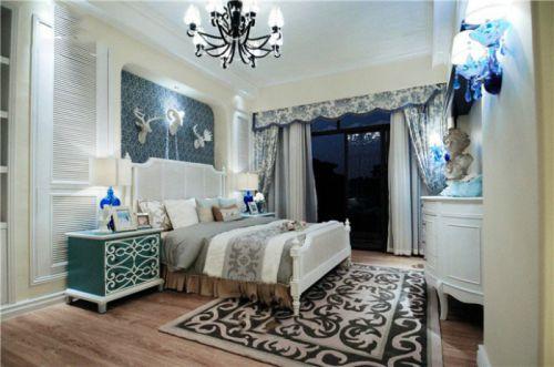 地中海风格卧室设计装潢