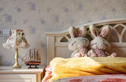 米色地中海风格休闲卧室效果图赏析