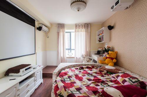 地中海米色卧室装修设计
