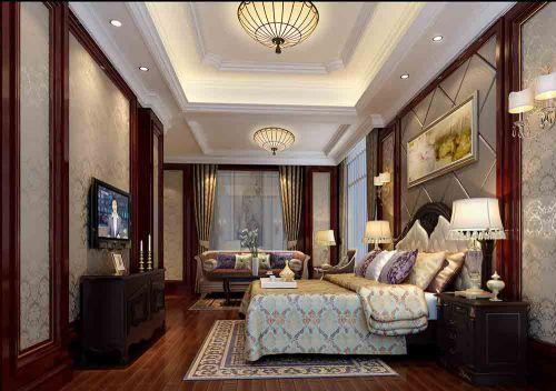 中式端庄卧室装潢