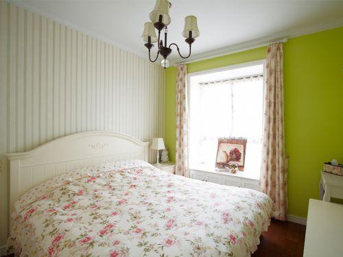 田园清新舒适卧室装修效果图