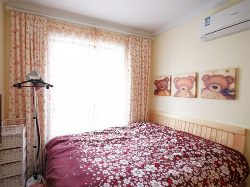 田园清新卧室装修效果图