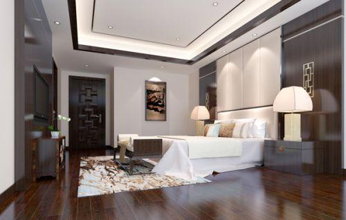 新中式古典风格卧室装修