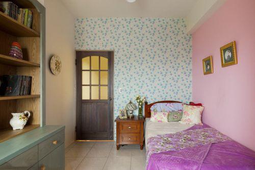 田园装修浪漫温馨粉色卧室欣赏