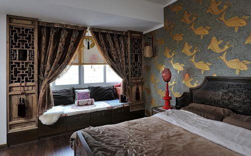 中式雅致卧室设计装潢