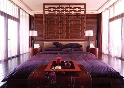 中式古朴卧室装潢设计欣赏