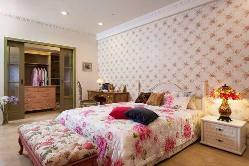 2016时尚创意粉色田园风格浪漫卧室赏析