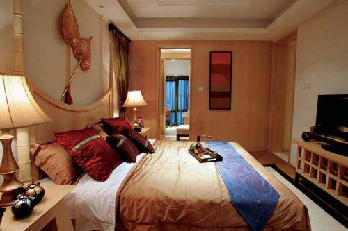 金贵中式卧室装修效果图
