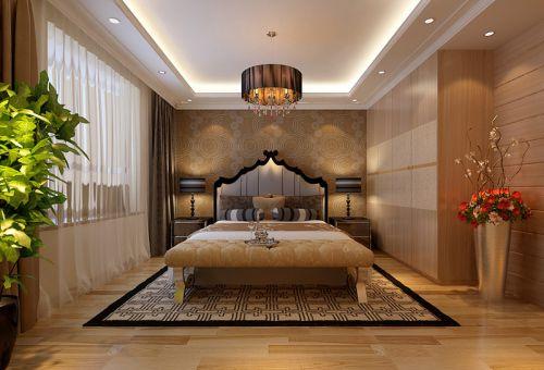 雅致中式风格卧室装修效果图