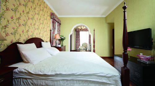 温馨田园风格卧室装修设计图片
