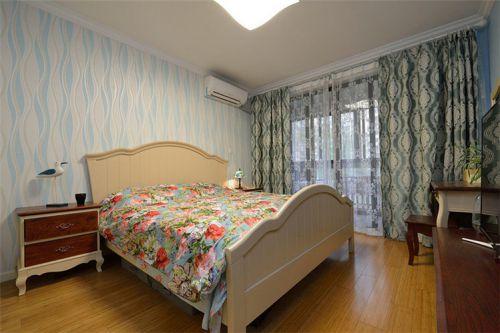 浪漫时尚温馨现代风格卧室装饰设计图片