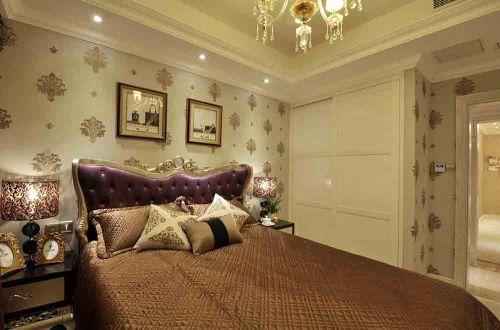华贵简欧风格卧室装饰设计