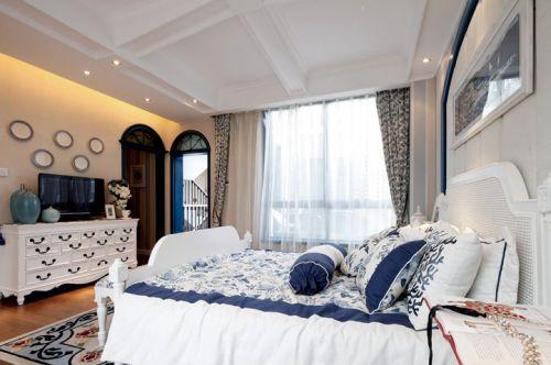 白色浪漫简欧风格卧室美图赏析