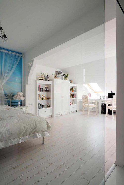 温馨宁静舒适简欧风卧室设计美图欣赏