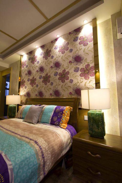 2016东南亚风格卧室装修设计