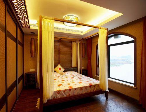 东南亚雅致时尚风格温馨卧室设计赏析