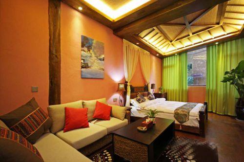 东南亚时尚卧室装修效果图