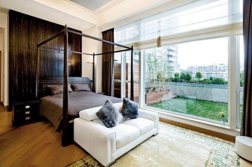 东南亚风格浪漫白色卧室装修设计