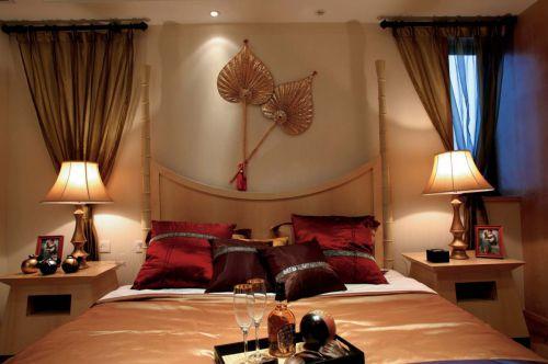雅致东南亚风格卧室设计赏析