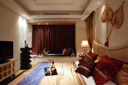 精致古典东南亚风格卧室设计