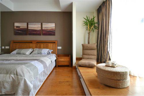 素雅简约时尚东南亚风格卧室装饰设计图片