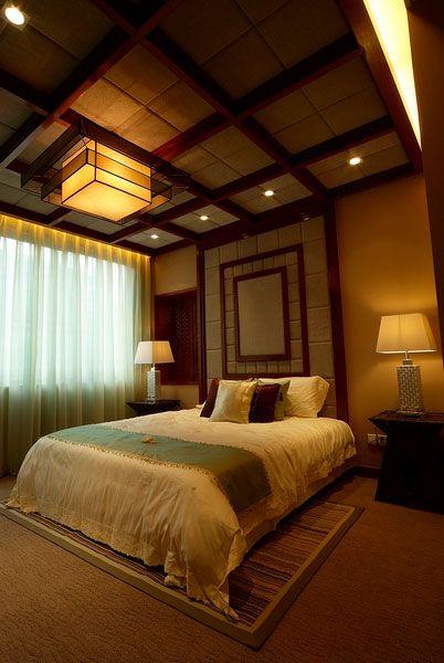 东南亚风格雅致卧室装修效果图