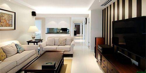 现代风格婚房客厅过道设计