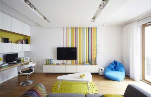 时尚现代风格客厅装饰设计