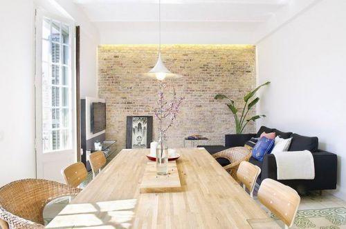 西班牙75平米现代家居客厅设计