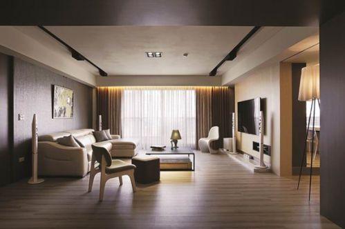 现代三居客厅飘窗美图