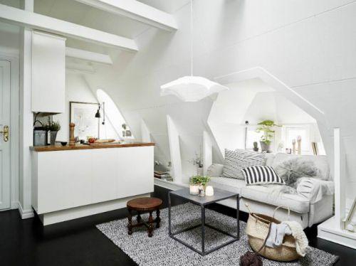 现代风格阁楼公寓装修美图