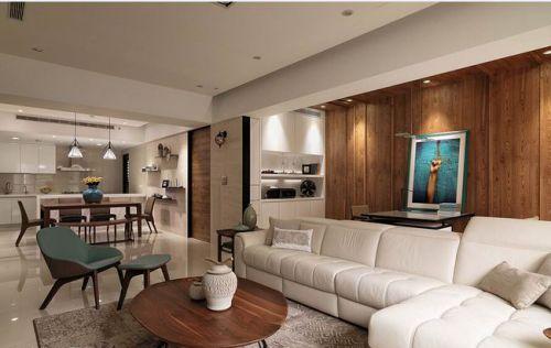 现代风格二居室客厅设计