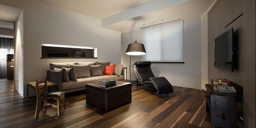 现代都市温馨三居客厅设计